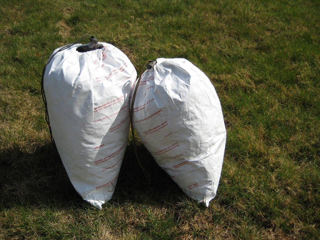 DIY Tyvek Stuff Sack