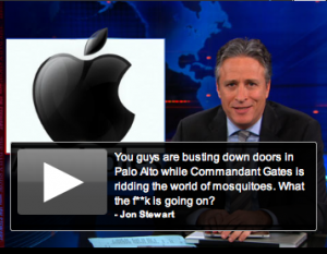 Post image for Appholes! John Stewart Calls Out Apple