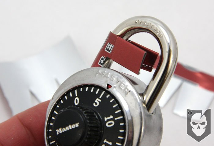 How to Open a Padlock with a Coke Soda Can | ITS Tactical