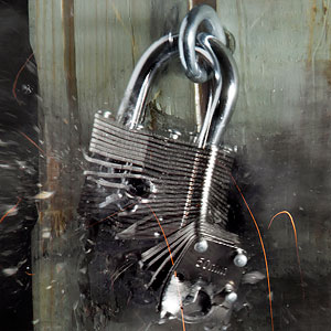 Post image for Can Your Padlock Withstand a Bullet?