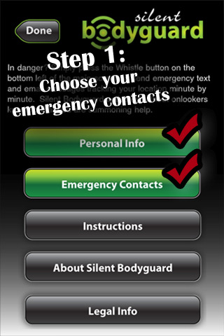 how to send emergency text iphone