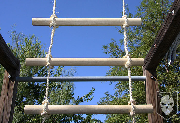 Rope Ladder Lashing