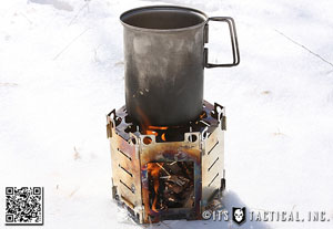 BACKPACKING STOVE - HOMEMADE