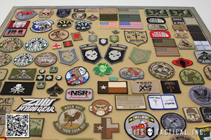 Post image for Running Out of Room for Your Morale Patches? Make a DIY Morale Patch Display Frame!