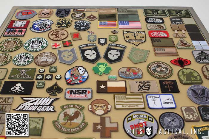 Morale Patch Display Frame