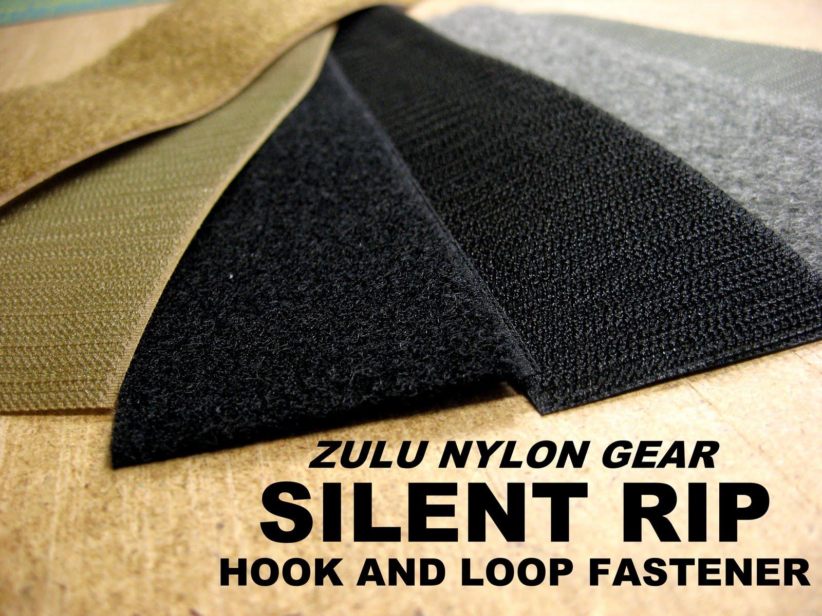 Zulu Nylon Gear Silent Rip