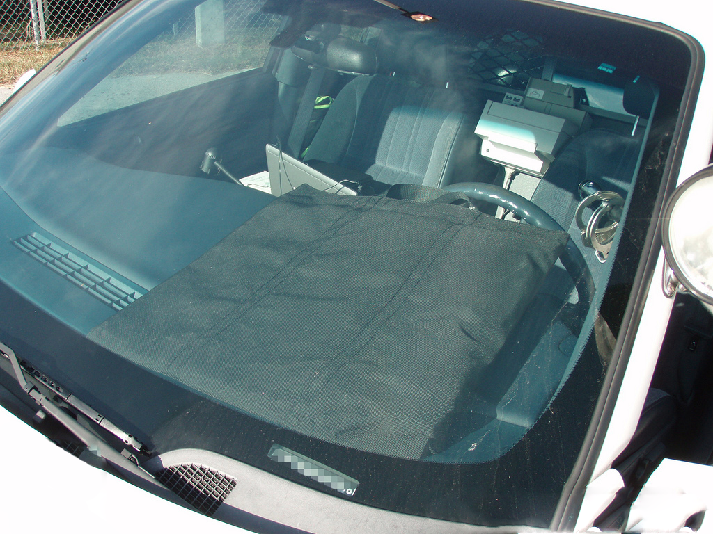 Body Armor in Car