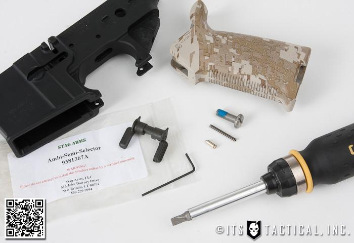 DIY AR-15 Build - Safety Selector and Pistol Grip Installation