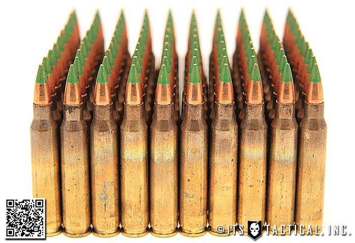 M855/SS109 5.56 Ammunition (Green Tip)