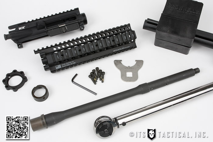 DIY AR-15 Build: Barrel and Free-Float Rail System Installation