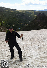 Mike on Saint Mary's Glacier