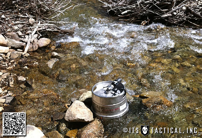 Keeping the keg cold