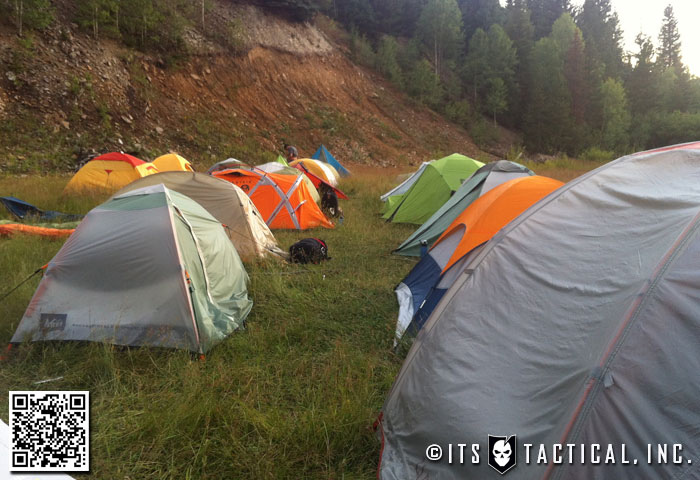 GORUCK Ascent HQ Tent Site