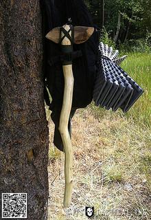Bryan's Handmade Wooden Axe