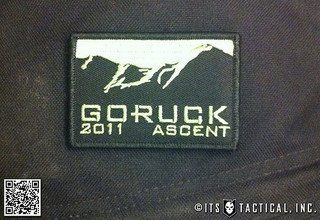 GORUCK Ascent 2011 Patch