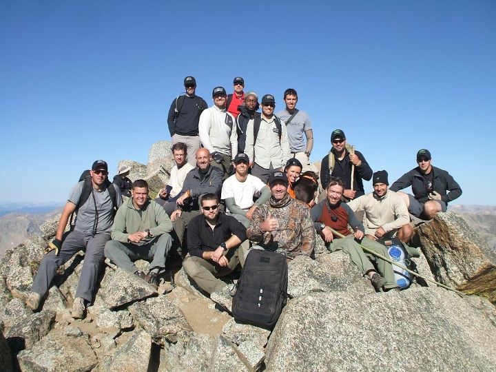 Mt. Harvard Summit Crew