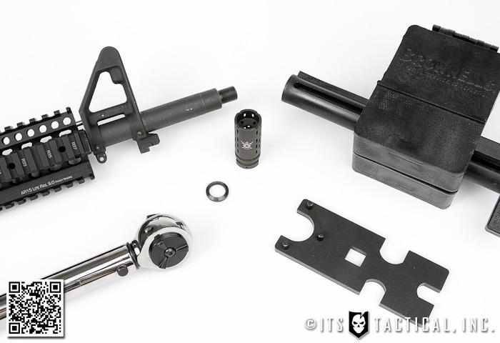 DIY AR-15 Build: Muzzle Device Installation