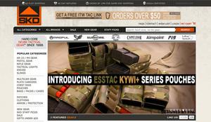 Post image for SKD Tactical Updates Website with Enhanced Navigation and Design