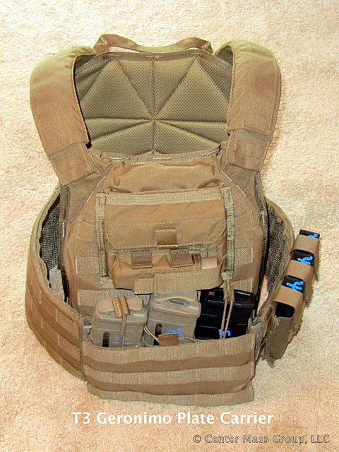 T3 Geronimo Plate Carrier