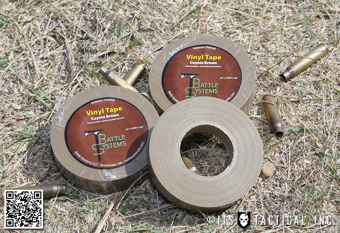 Battle Systems Coyote Brown Vinyl Tape