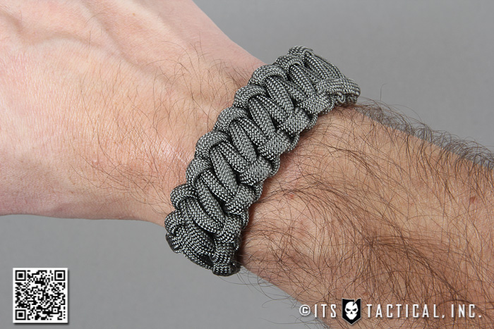 Quick Release Paracord Bracelet For Emergency Deployment Its Tactical