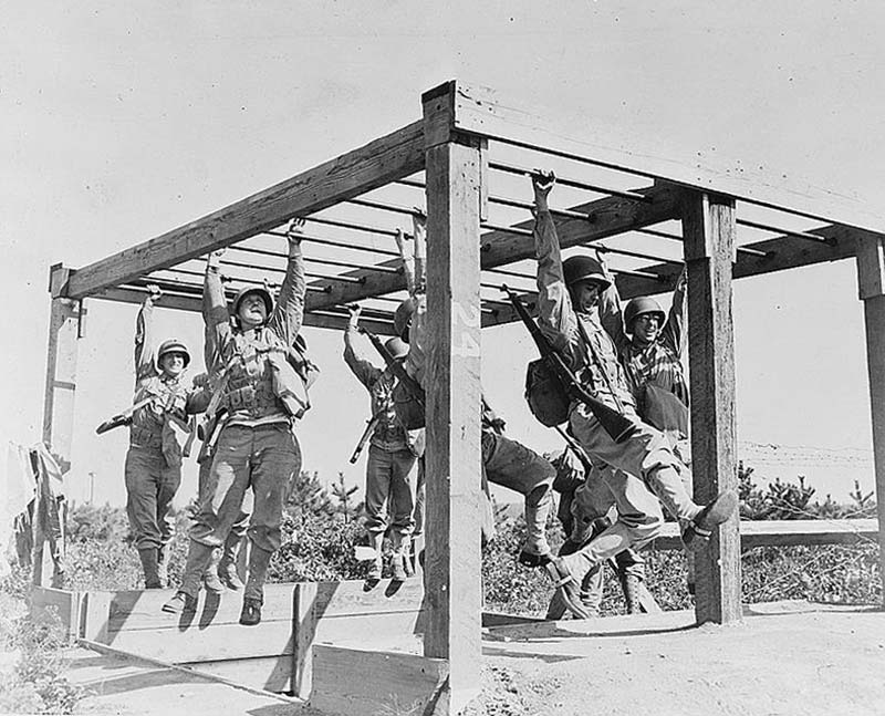 WWII GI Training
