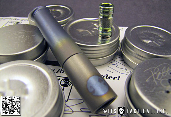 FourSevens Preon P1 Flashlight Review And Clicky Tailcap Modification