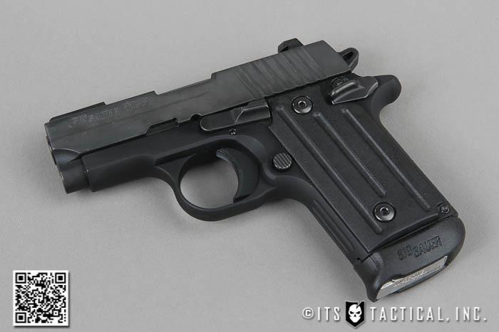 Black version of the pistol