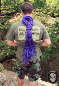 How to Coil and Carry a Rope for Climbing or Rappelling ...