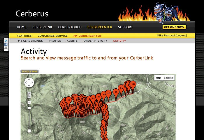 CerberLink Website