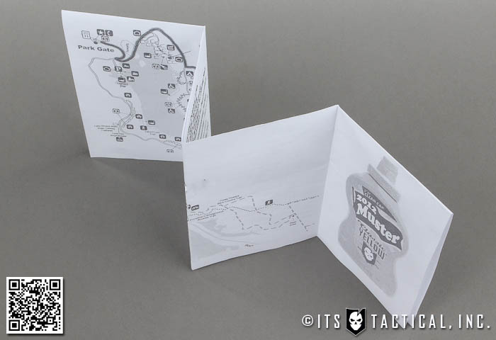 DIY Flat Fold Topographic Map