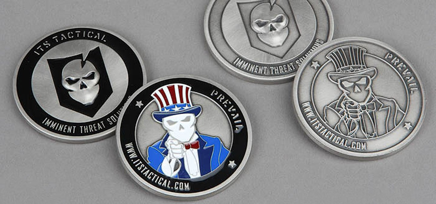 Challenge Coin Rules, History and Tradition - ITS Tactical