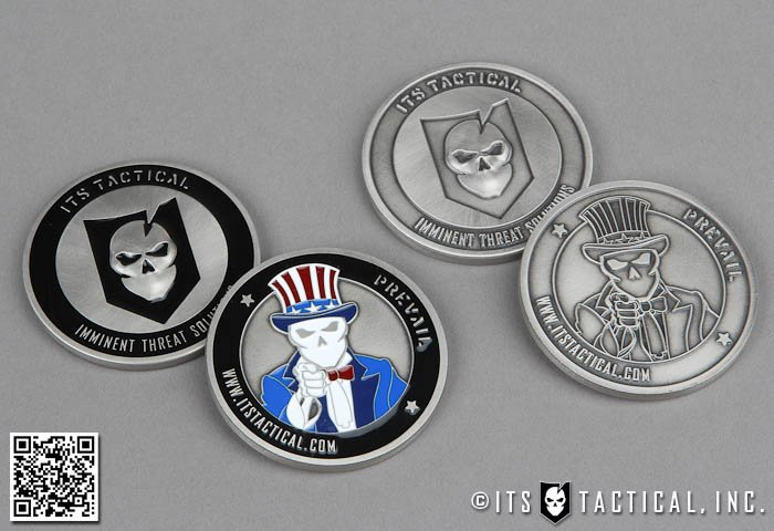ITS Tactical Challenge Coins