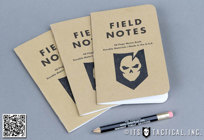 Stamped Field Notes Notebook