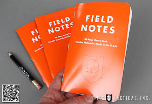 ITS Embossed Field Notes Waterproof Expedition Edition Main