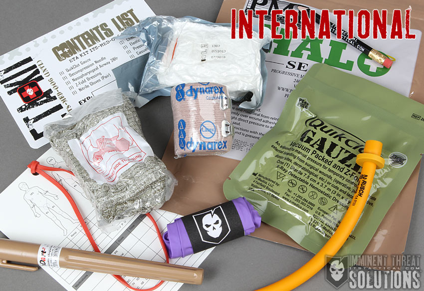 ITS ETA Trauma Kit Tallboy