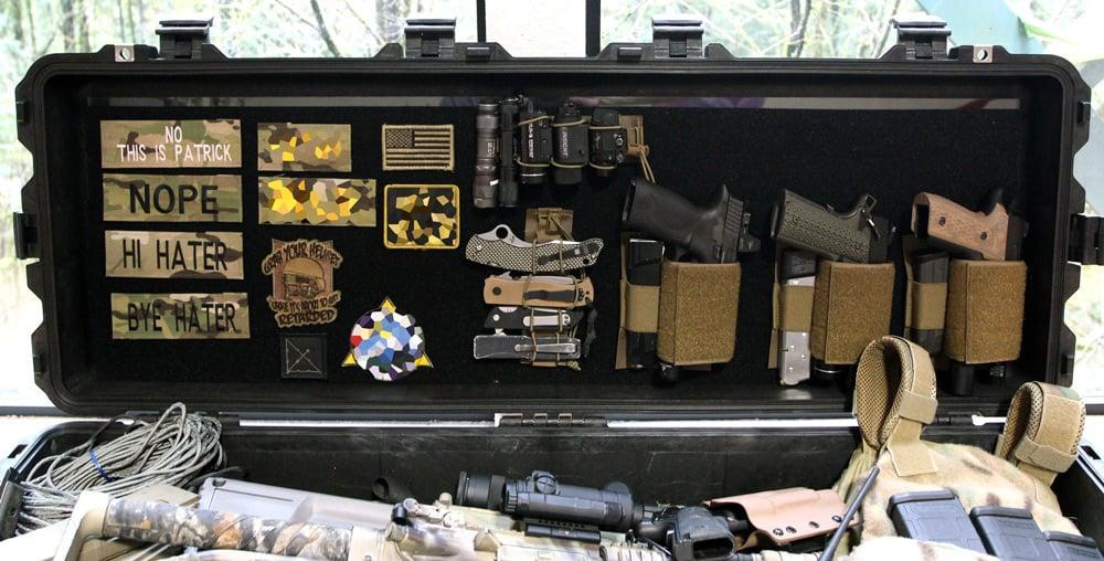 Diy Pelican Case Velcro Organizer Its Tactical