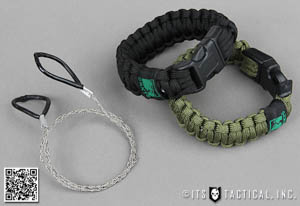 CRKT Wire Saw Paracord Bracelet Main