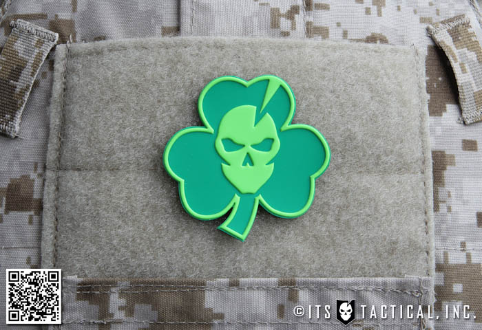 ITS St. Patrick's Day Shamrock Morale Patch