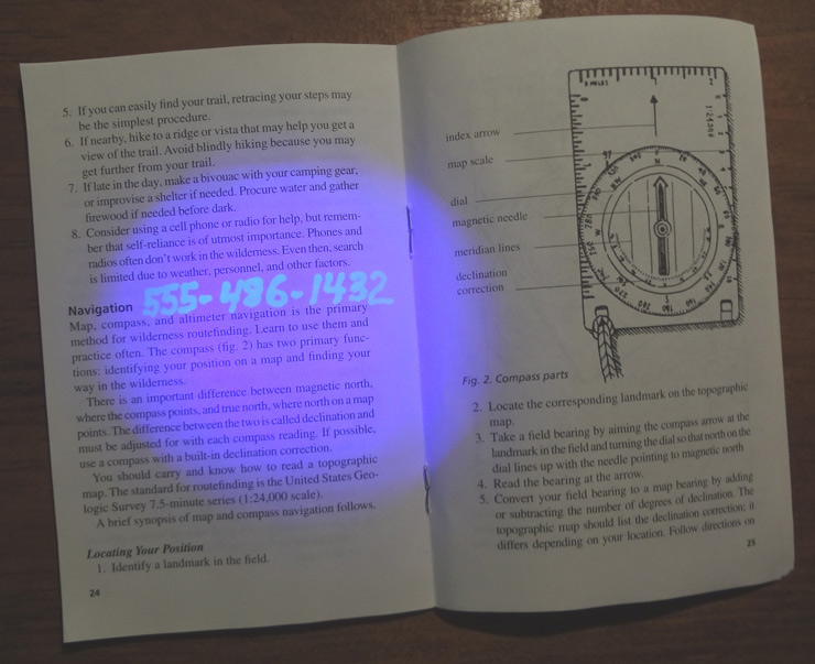 UV Used In Book UV On