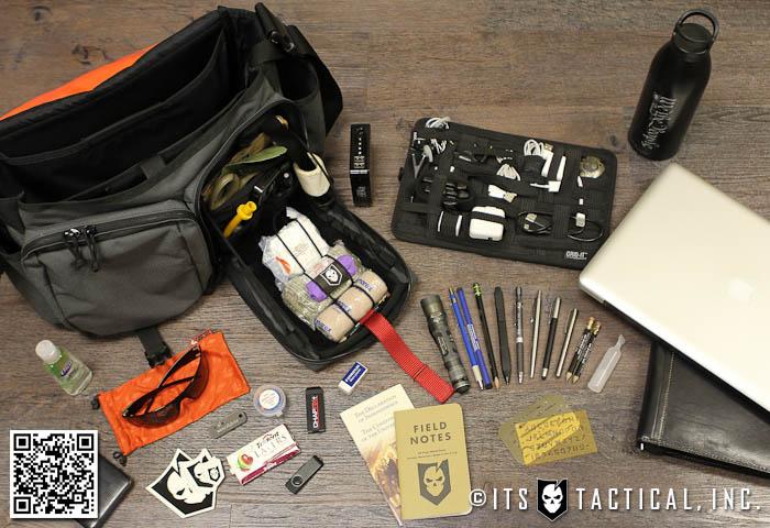 Bryan's Bag Contents