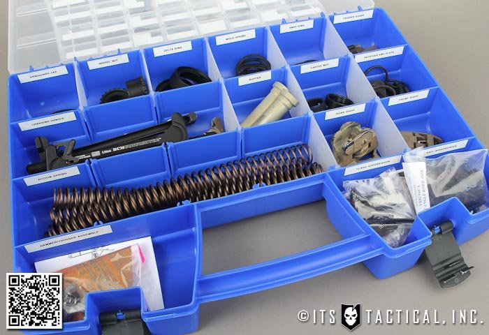 AR-15 Spare Parts Organization