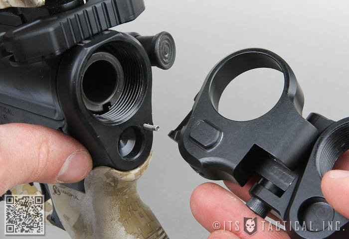 Law Tactical Gen 2 Folding AR-15 Stock Adapter: Install and