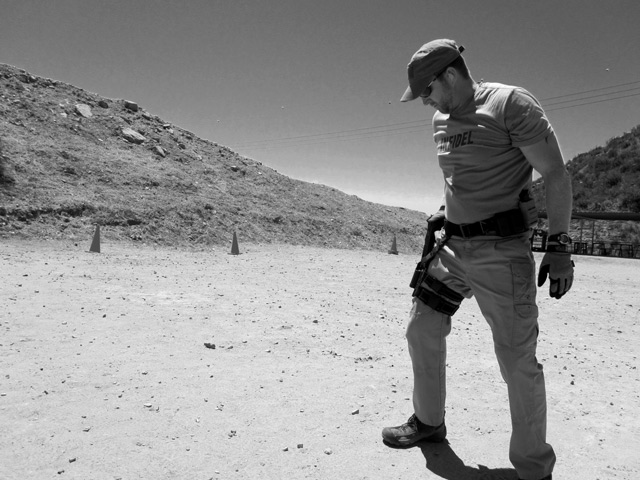 Training at the range