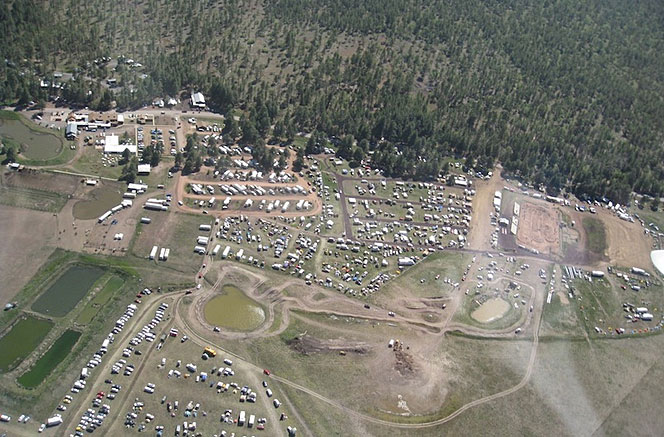 Overland Expo Birds Eye View