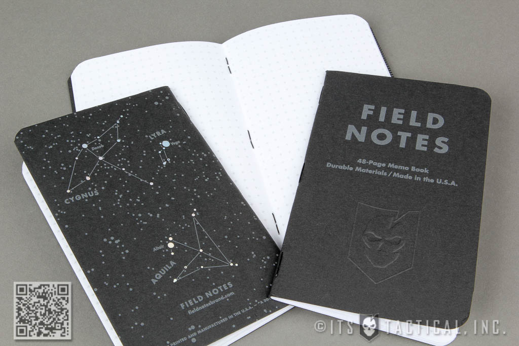 ITS Embossed Field Notes - Night Sky Edition 01