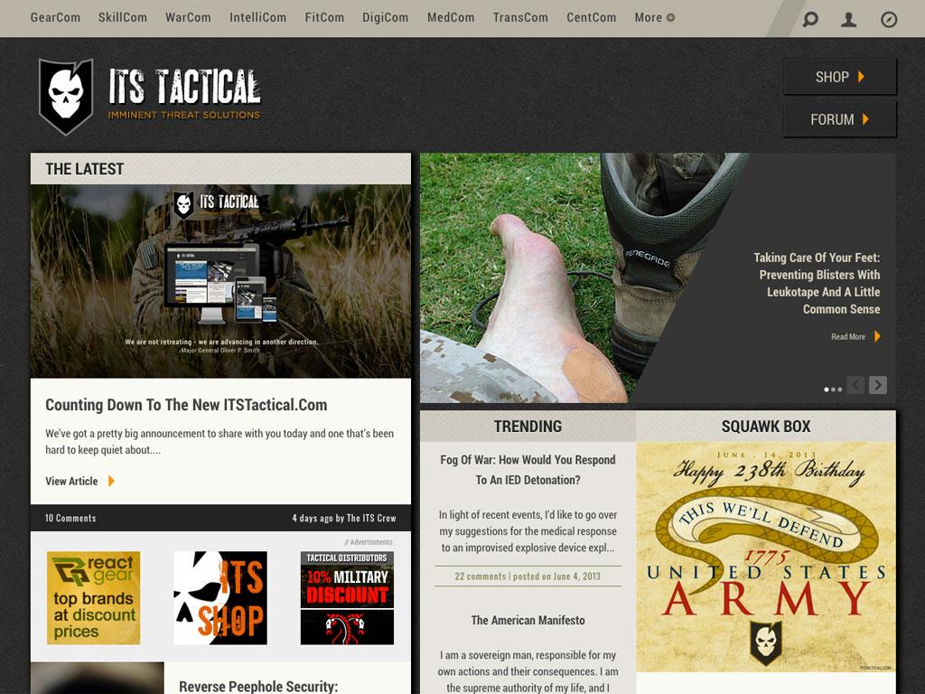 ITS_Homepage