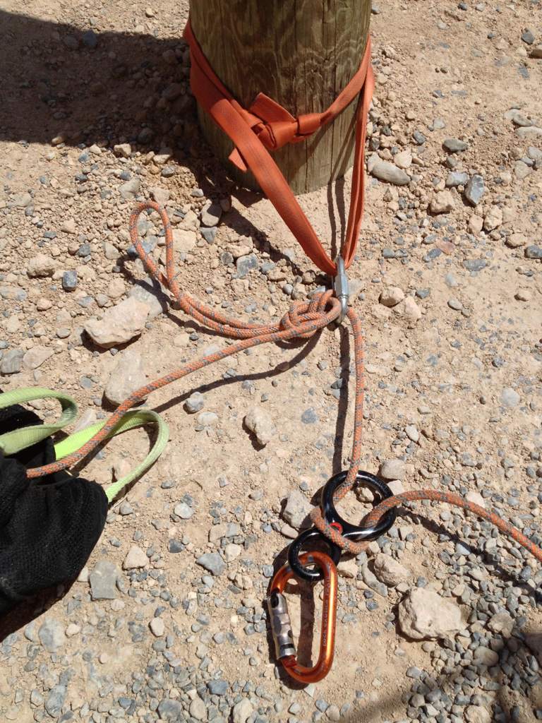 Retrievable Rigging - Knot Block