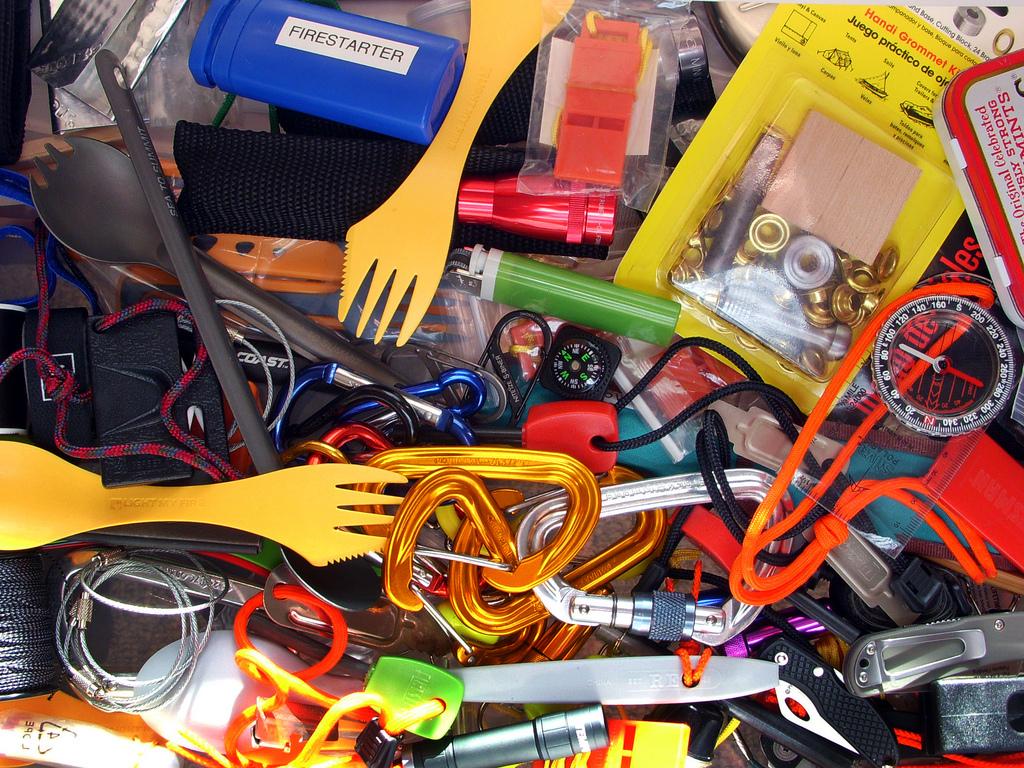 Gear Pile (c) Brian Green