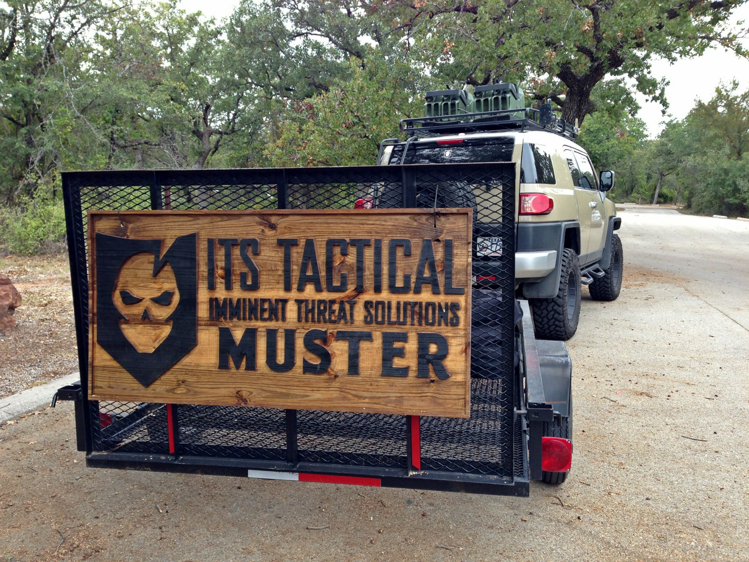 Muster Truck Sign